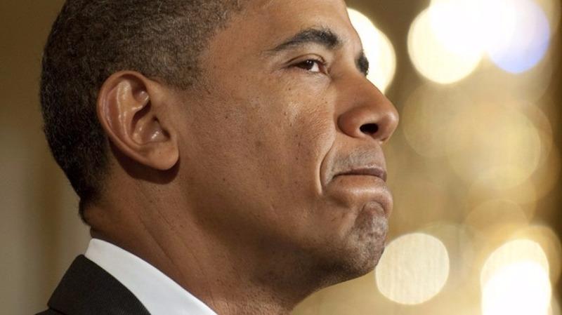 歐巴馬近3000天的任職歷程中,它們勾勒出了歐巴馬總統任期的得失輪廓。  (圖:AFP)