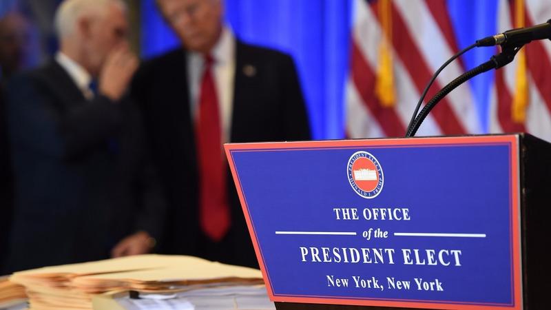 分析指川普在本週三記者會上令投資人失望。 (圖:AFP)