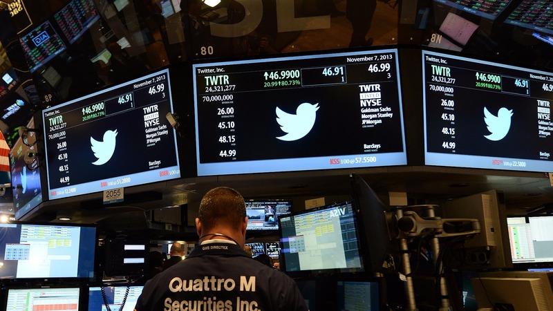 圖:AFP 美國股市震盪收高