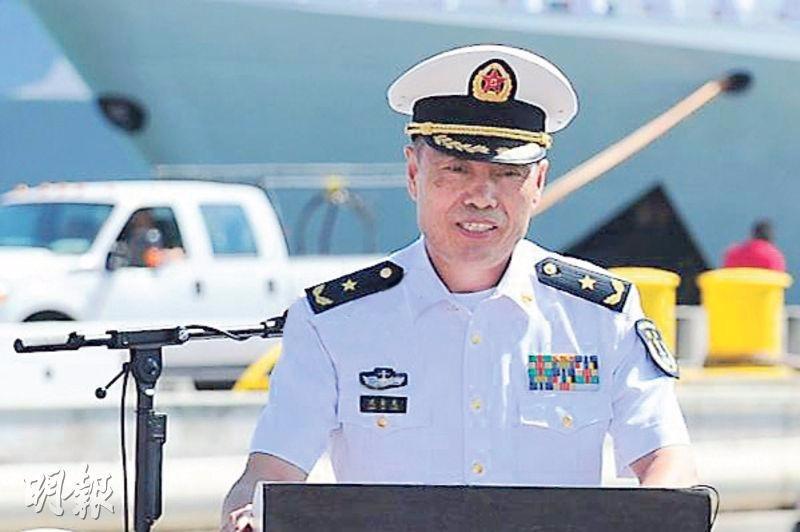 南海艦隊司令沈金龍中將。  圖片來源:香港明報