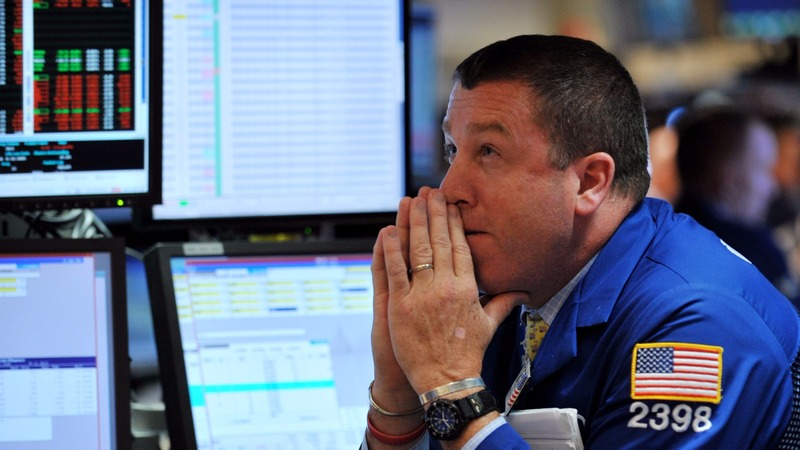 圖:AFP 美國股市週四下跌