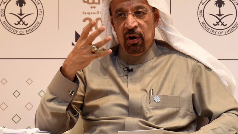 沙烏地阿拉伯能源部長Khalid al-Falih預估未來兩三年原油市場將繼續緊縮。(圖:AFP)