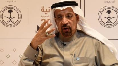 沙烏地能源部長Khalid Al-Falih。(圖片來源:AFP)