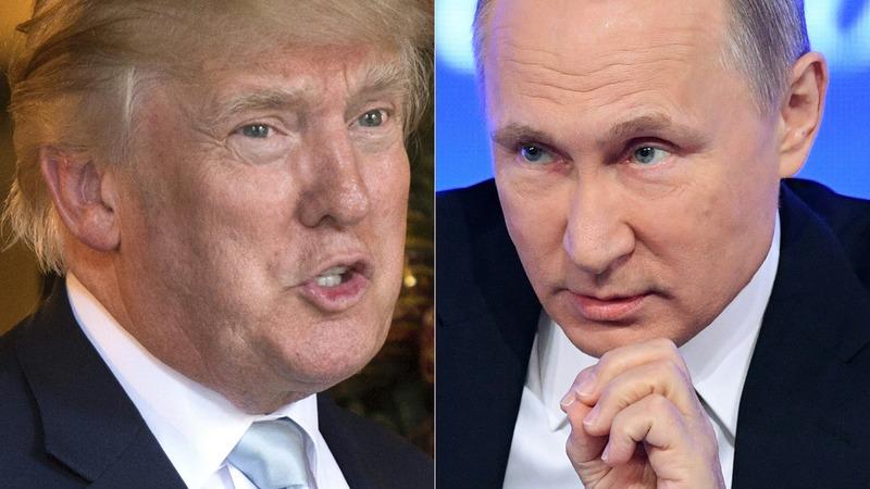 英國官員擔心川普與俄國關係太友好將傷害北約、東歐甚至導致英國情報外洩。(圖:AFP)