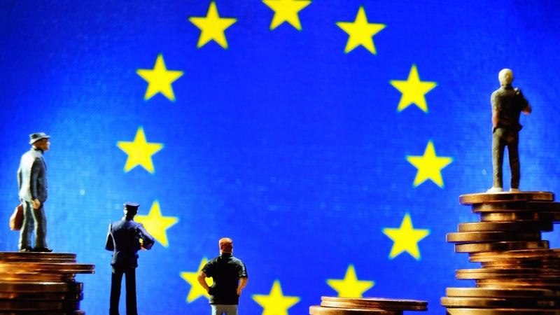 圖:AFP  歐盟已見分崩離析