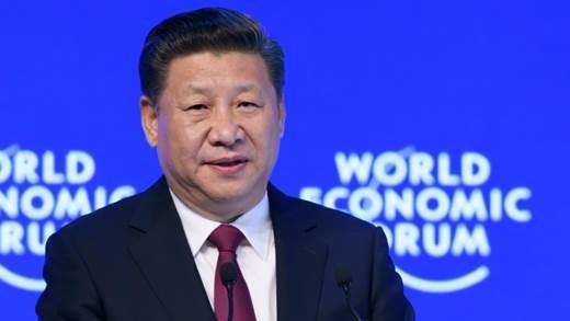 (圖四:習近平為中國金改、破天荒去達沃斯論壇?AFP)