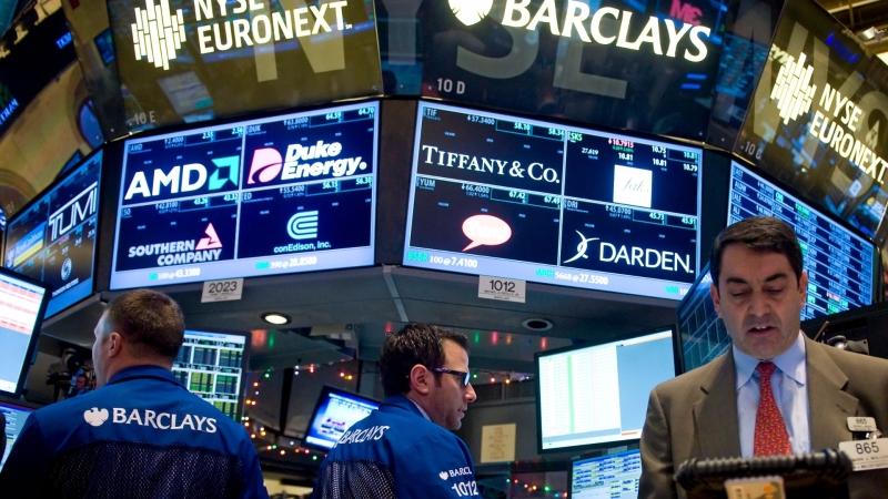 圖:AFP 美國股市週三大幅上漲 道瓊突破2萬點大關