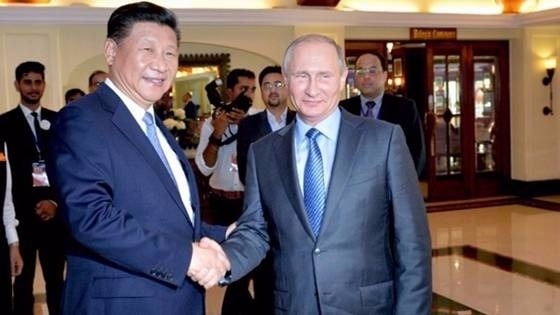 (圖二:有中國一帶一路做靠山?老子還怕你川普不成?AFP)