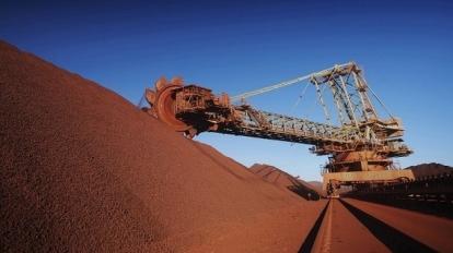 鐵礦砂。(圖片來源:AFP)