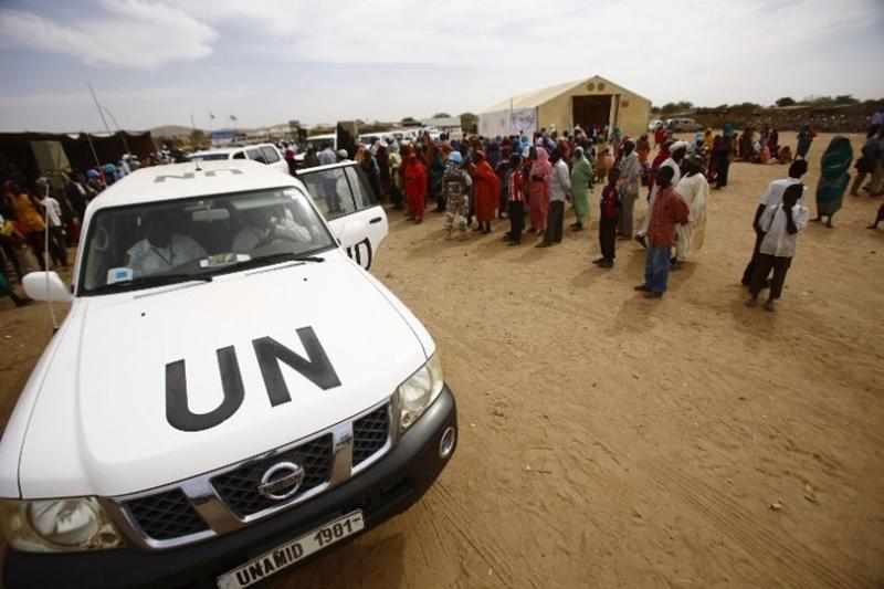 聯合國官員訪問蘇丹,監督難民營援助。 (圖:AFP)