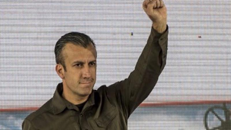 委內瑞拉副總統塔雷克·埃爾·艾薩米(Tareck El Aissami)。  (圖:AFP)