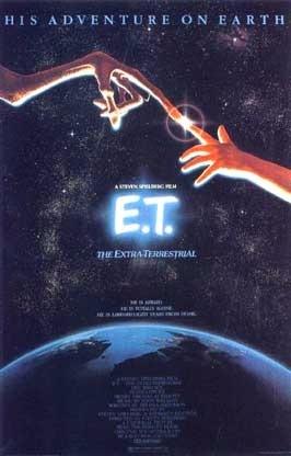 1982年美國科幻片《E.T.外星人》電影海報。  (圖:維基百科?