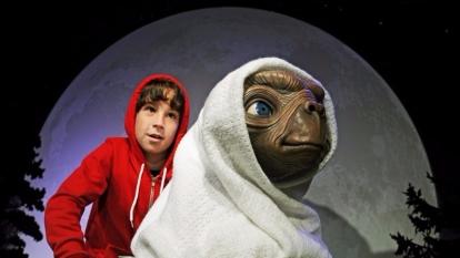 1982年美國科幻片《E.T.外星人》劇照。  (圖:AFP)