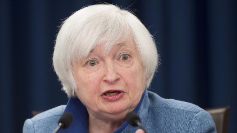 圖:AFP Fed主席葉倫今日將進行聽證會