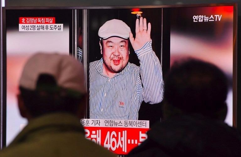 北韓電視台報導,大馬當局為緝兇,未對外發放金正男暗殺消息。 (圖:AFP)