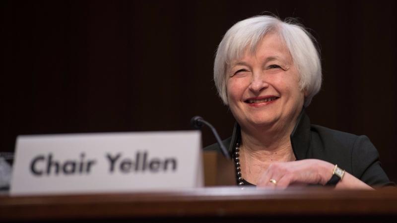 美國聯準會主席葉倫 Janet Yellen 圖片來源:afp