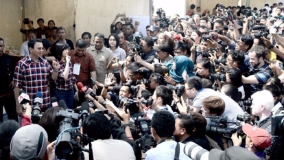 華裔雅加達首長以「求同存異」為號召,對抗「褻瀆可蘭經」指控 。 (圖:AFP)