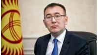 吉爾吉斯央行行長Abdygulov。(彭博)。