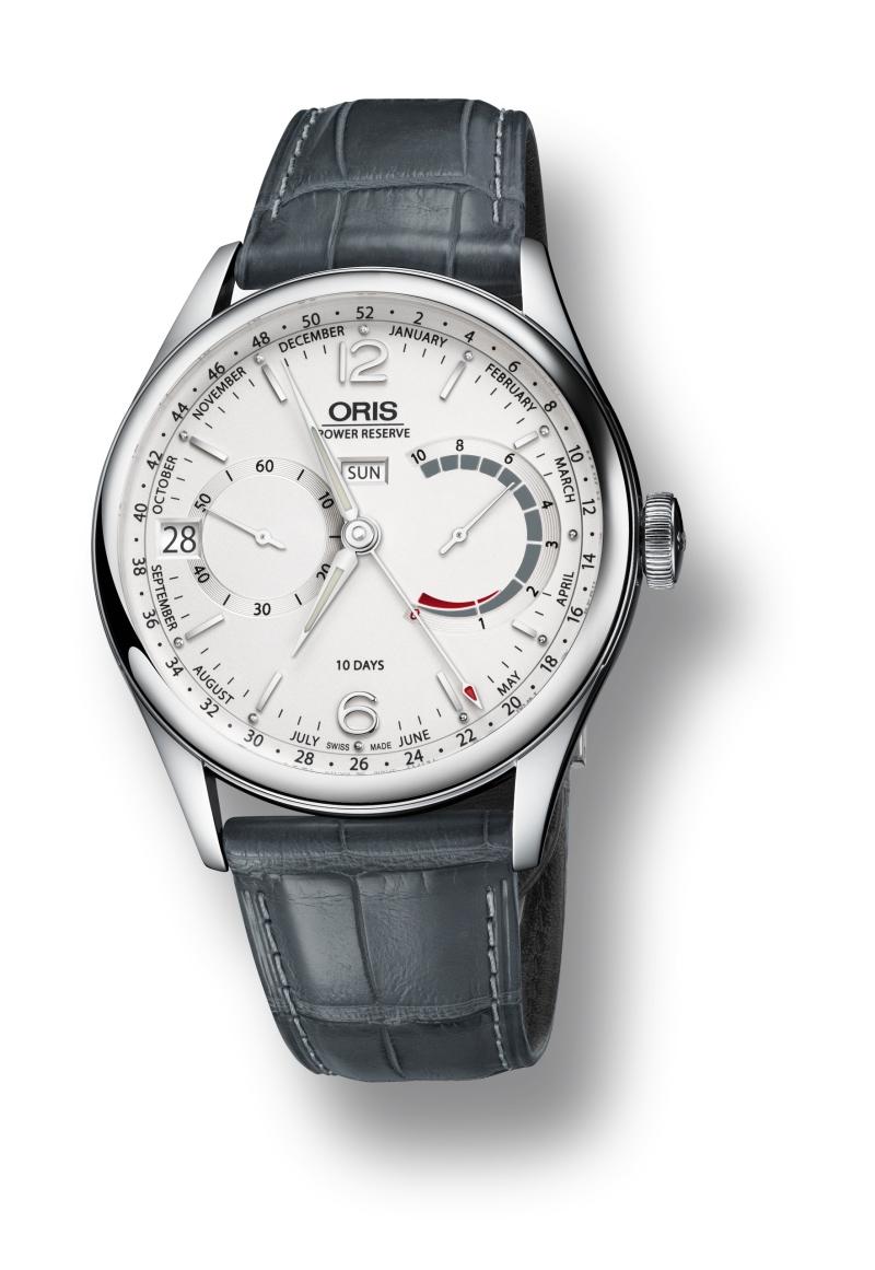 Oris將在鐘錶大展中推出商務人士適戴的Artelier Calibre 113。