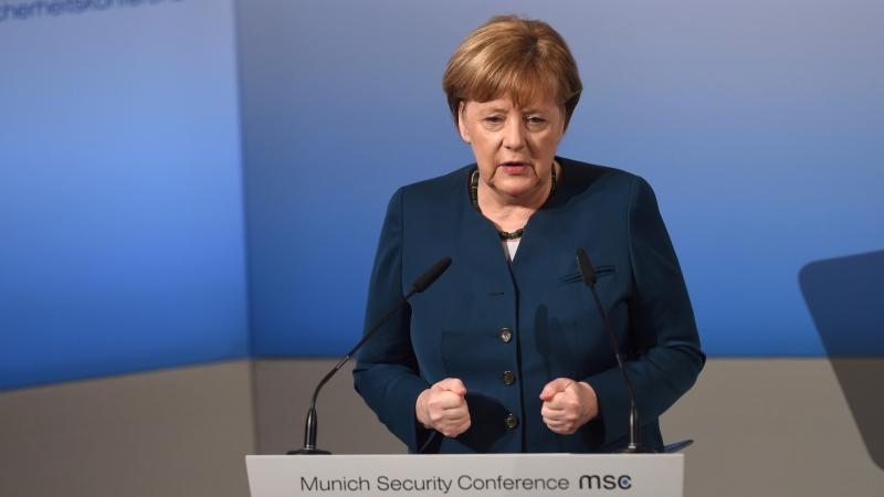德國總理梅克爾 Angela Merkel 圖片來源:afp
