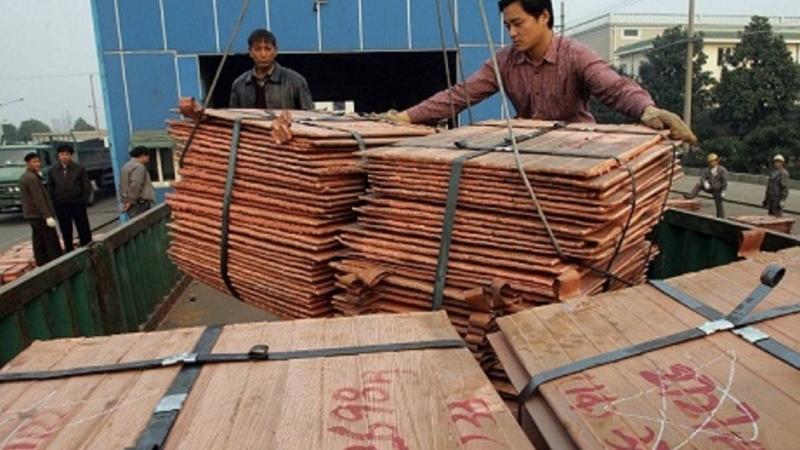 銅礦。(圖片來源:AFP)