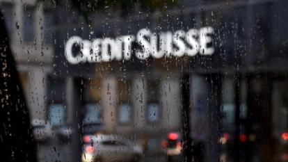 瑞士信貸銀行分行。(AFP)