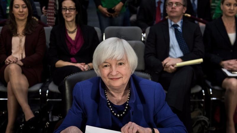 圖:AFP Fed下週升息幾乎已成定局