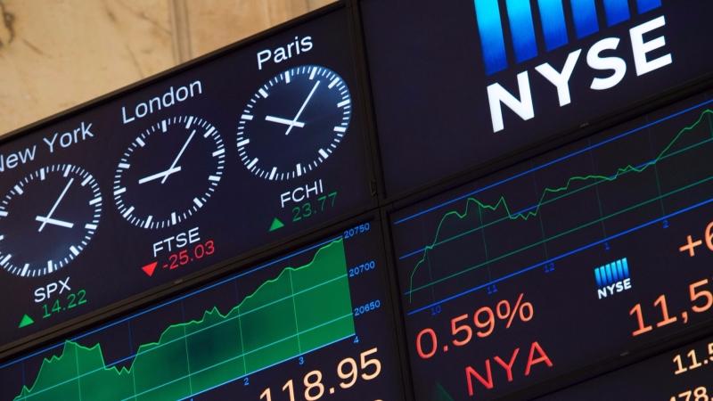 圖:AFP 美國股市等待Fed利率決議