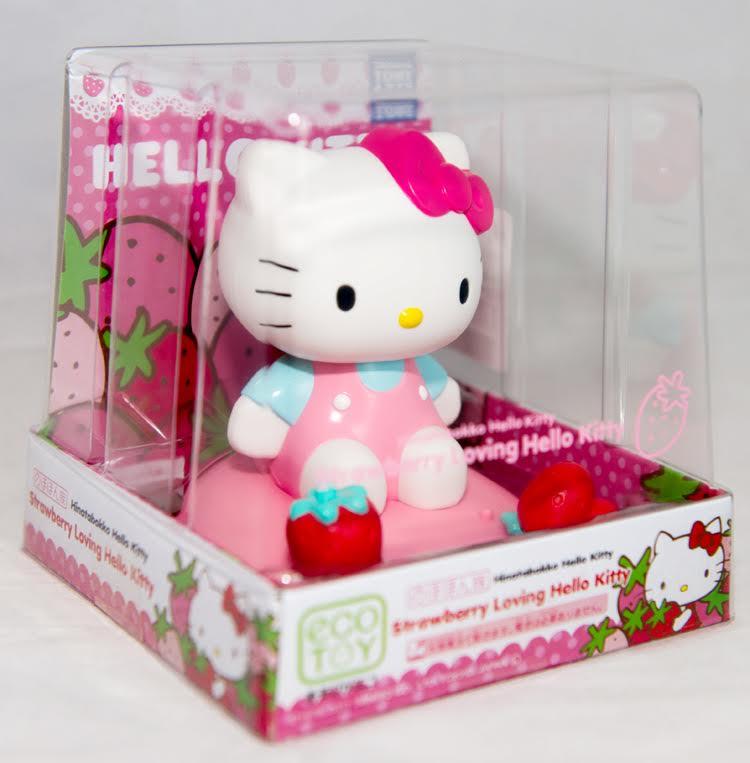 Hello Kitty太陽能搖頭娃娃。(圖:樂天市場提供)