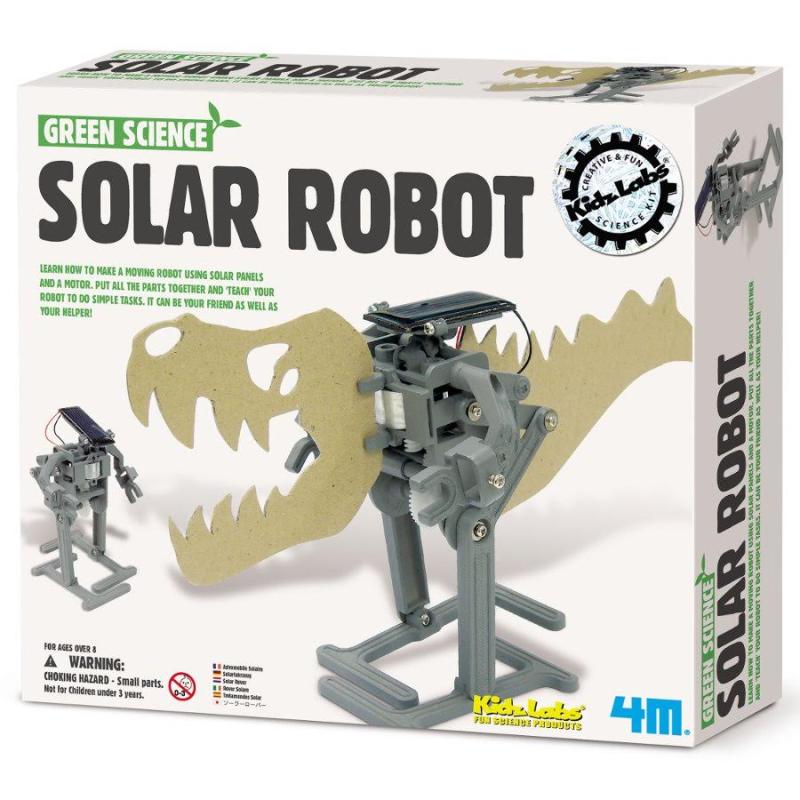 太陽能機器人。(圖:樂天市場提供)