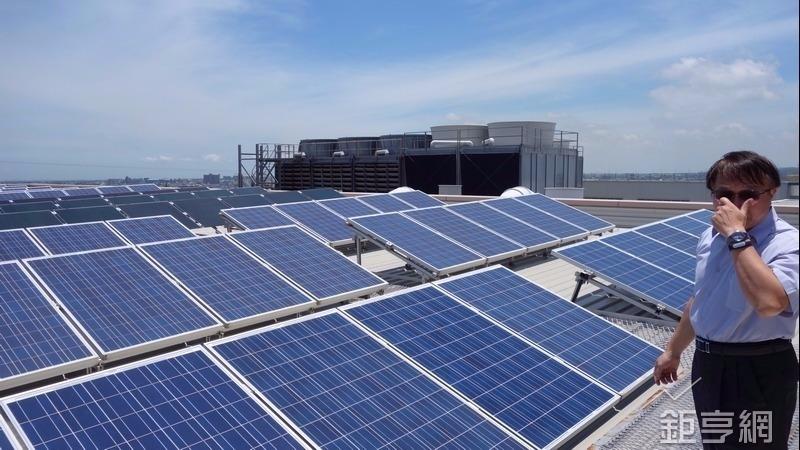 元晶再拿下新竹市公有房舍屋頂3.5MW標租案。(鉅亨網記者張欽發攝)