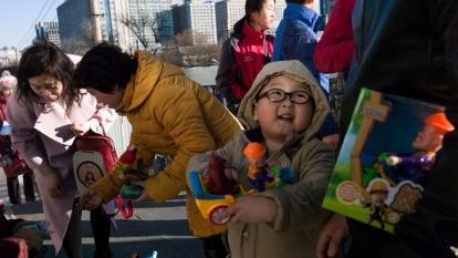 中國北京街頭。(AFP)