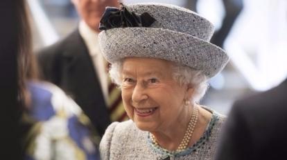 英國女王伊麗莎白二世。  (圖:AFP)