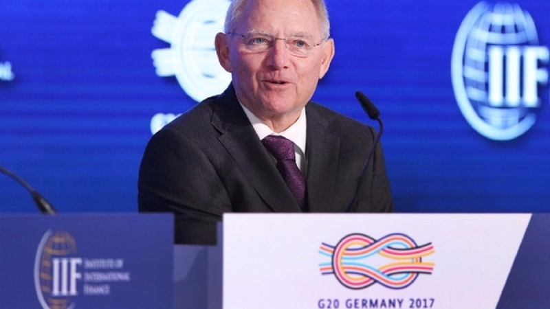 有專家認為在貿易問題上措辭軟弱,對G20輪值主席國德國而言是一次失敗。(圖片來源:AFP)