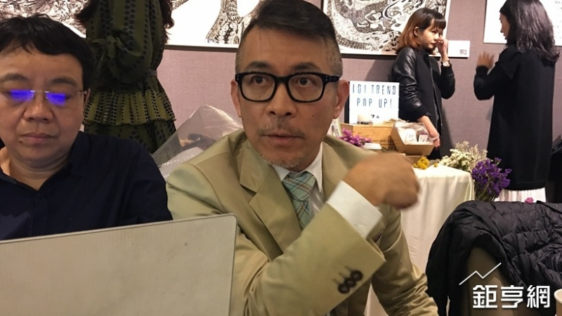 台北101發言人劉家豪。(鉅亨網記者王莞甯攝)