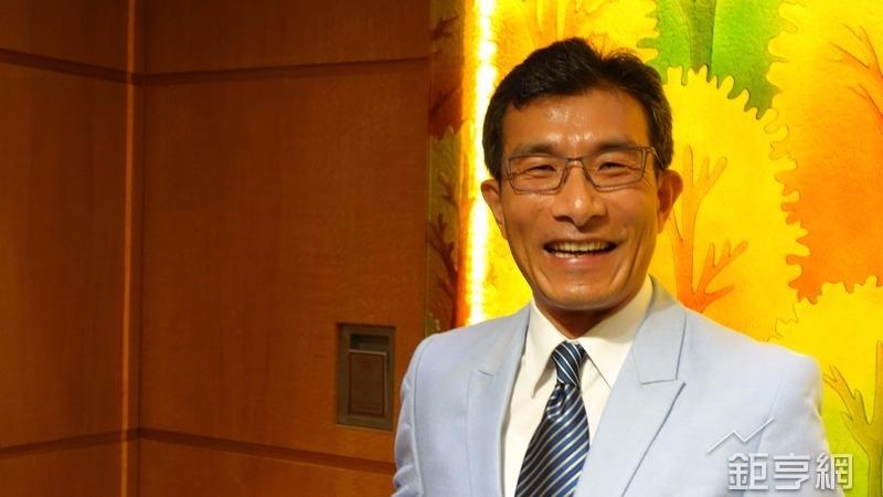 桂盟董事長吳盈進。(鉅亨網記者張發發攝)