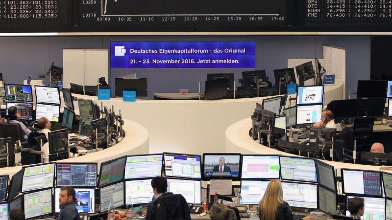 圖:AFT 歐股週一小幅收低