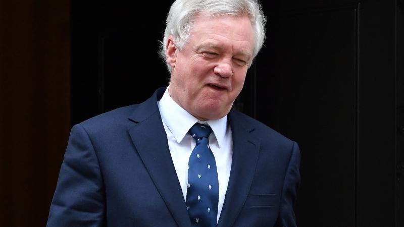 英國脫歐部長 David Davis。(圖:AFP)
