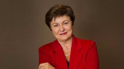 世界銀行執行長Kristalina Georgieva(圖:AFP)