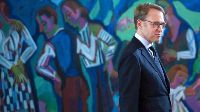 德國央行總裁魏德曼 (Jens Weidmann) 圖片來源:afp
