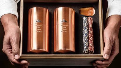 冬季凍頂烏龍茶茶王,限量40盒。(圖:昇恆昌提供)