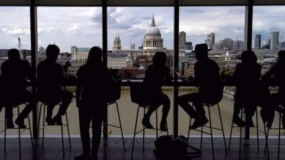 倫敦聖保羅座堂。(AFP)
