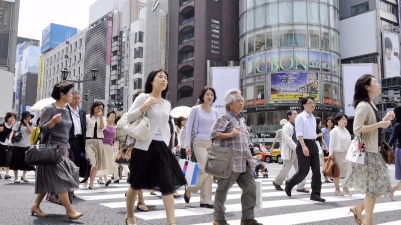日本地價連兩年上揚(圖:AFP)