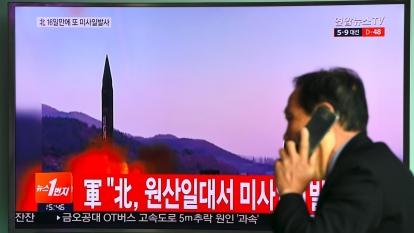 北韓上週五再試火箭引擎 美官員:擔心還有更多武器測試