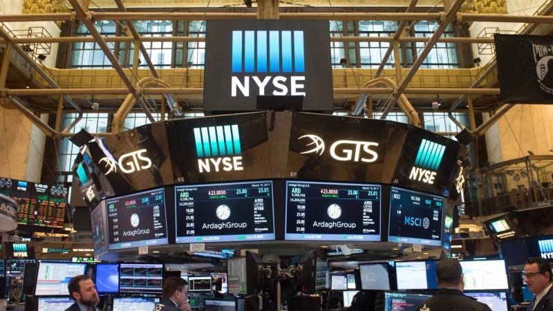 圖:AFP 美國股市週二大幅上漲