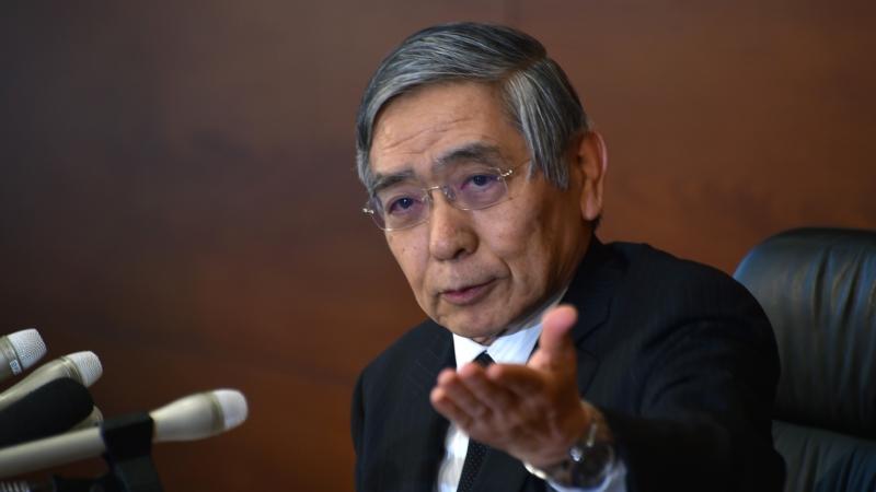 日本央行總裁黑田東彥 (Haruhiko Kuroda) 圖片來源:afp