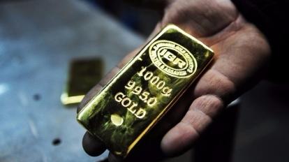 今(17)日亞盤現貨共金上漲至1295.5美元。 (圖:AFP)
