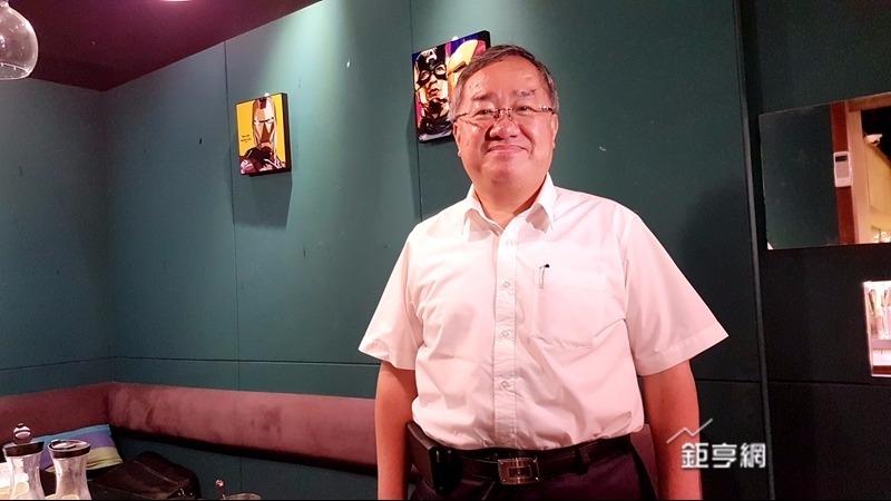 欣同董事長林宏信強調當選董事後要讓大同賺錢。(鉅亨網記者楊伶雯攝)