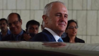 澳洲總理滕博爾(圖:AFP)