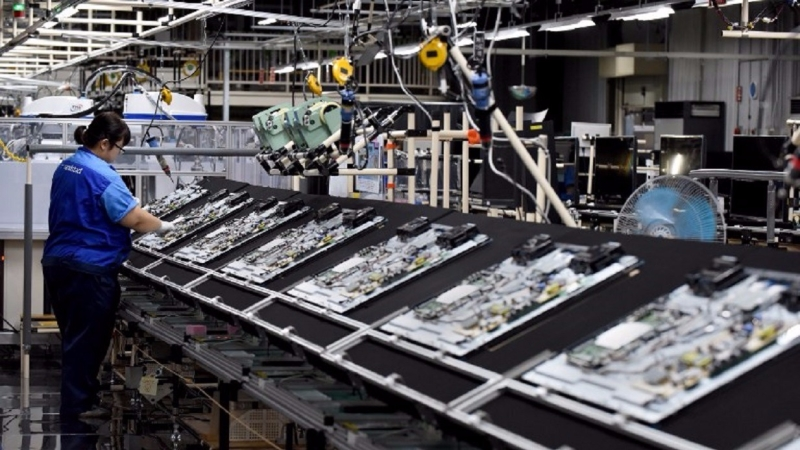 4月份出口訂單的表現有助於提升日本製造業的表現。(圖片來源:AFP)
